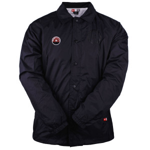 Jaqueta Quebra-vento DC Core Coach Jacket Preta  cf57e2960ba