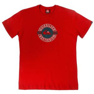 ba73bf580a Camiseta Quiksilver Juvenil Esp - Vermelho