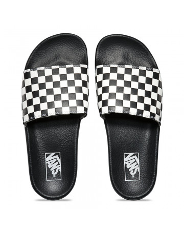 Chinelo Vans Slide-on - Preto/Branco
