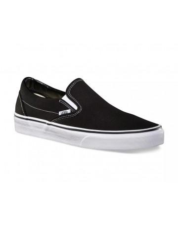 Tênis Vans Classic Slip-On - Preto