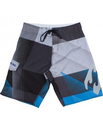 Bermuda Billabong Juvenil Vantage - Cinza/Azul