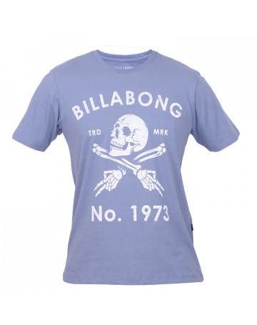 Camiseta Billabong Skull - Azul