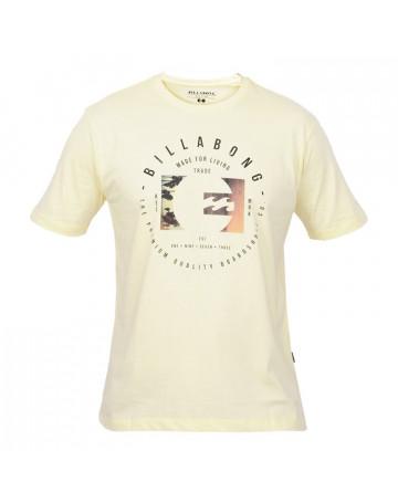Camiseta Billabong Secret Beach - Amarela