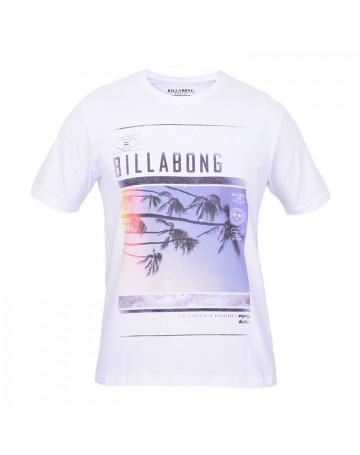 Camiseta Billabong Established - Branca