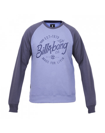 Moletom Billabong Shark - Azul