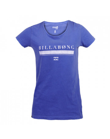 Camiseta Billabong Feminina Pride - Azul