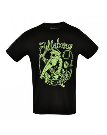 Camiseta Billabong Glow - Preta