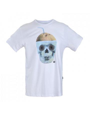 Camiseta Billabong Drink - Branca