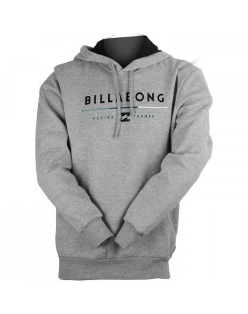 Moletom Billabong Tri Unity - Cinza  84d63af43b8