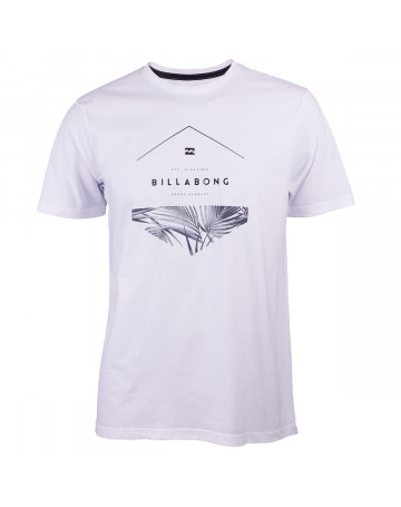 1ef4b5102e Camiseta Billabong Split Hex Branca