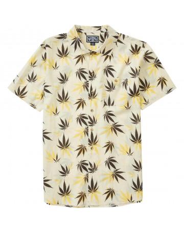 Camisa Billabong Mull Leaf SS - Amarela