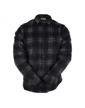 Camisa Billabong Furnace Flanelada - Preta