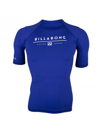 Camiseta Surf Billabong Lycra All Day Unity - Azul