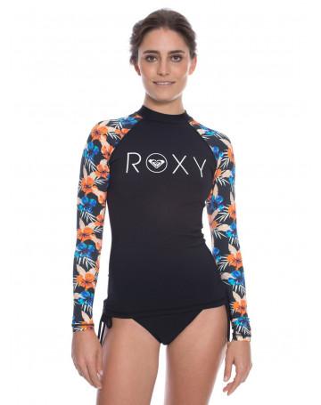 Camiseta Roxy Lycra Kona Floral  c2ccfe784fdde