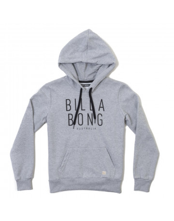 Moletom Billabong Fame - Cinza