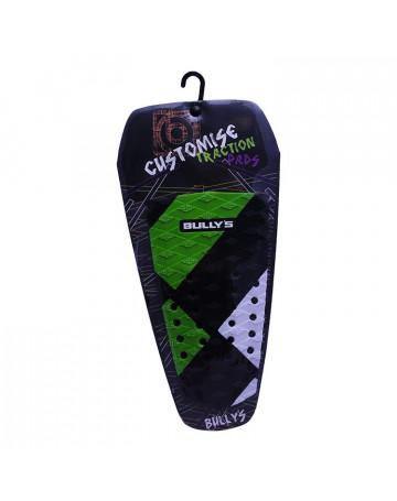 Deck Bully's Customise Traction (Centro) - Quadrado Verde