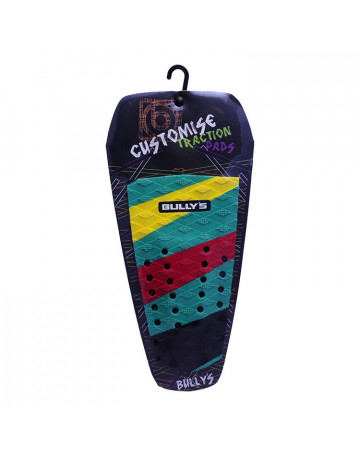 Deck Bully's Customise Traction (Centro) - Listrado Verde