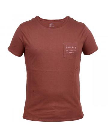 Camiseta O'Neill Authentic Supply Marrom