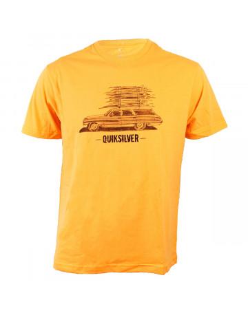 fa752a514a10d Camiseta Quiksilver Full Board Laranja   Loja de Surf