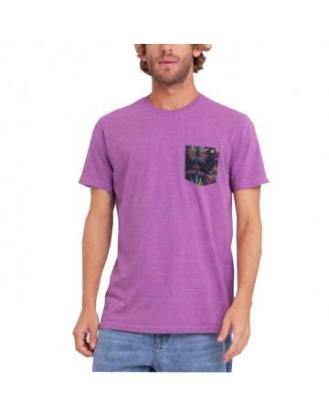Camiseta Billabong After Dark Roxa