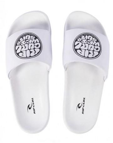 Chinelo Rip Curl Roud Carver Branco1