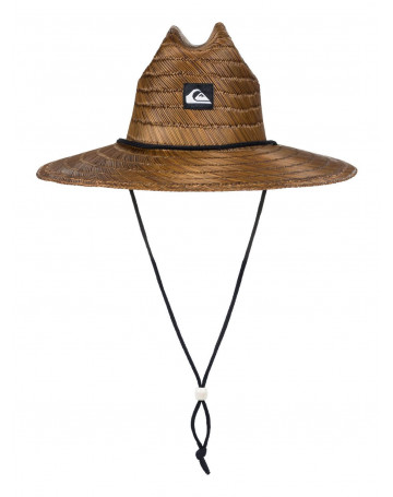Chapéu de Palha Quiksilver Pierside - Dark Brown