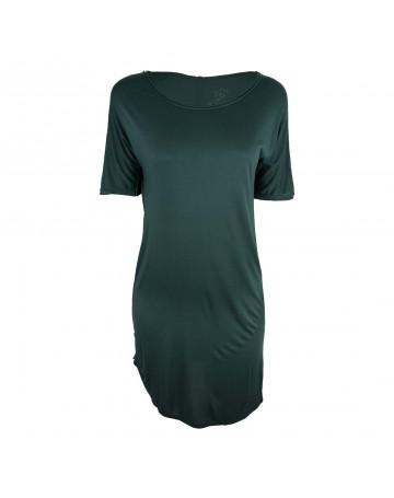 Vestido Cantão Basic - Verde