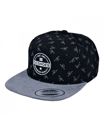 Boné DC Kingpin M Hats - Preto