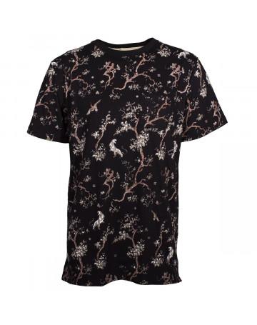 Camiseta DC Pilkington - Preto/Floral