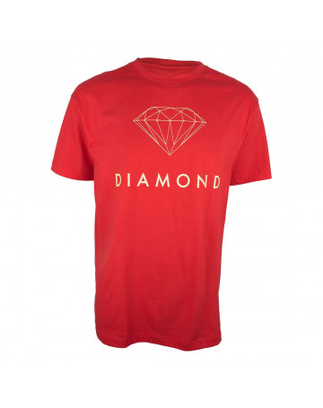 Camiseta Diamond Futura Sign - Vermelha