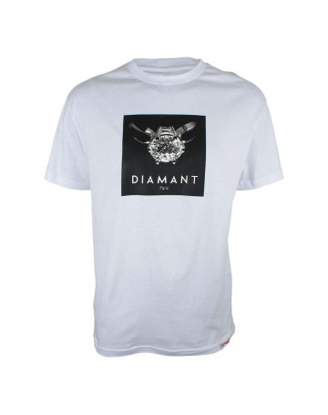 Camiseta Diamond Paris - Branca