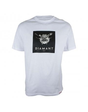 Camiseta Diamond Paris - Branca