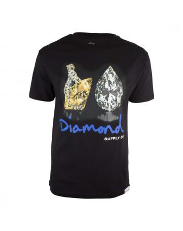 Camiseta Diamond Tiger - Preto