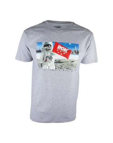 Camiseta DGK Out There - Cinza Mescla