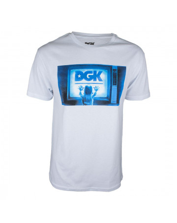 Camiseta DGK Static Branca  1736721b2ea0f