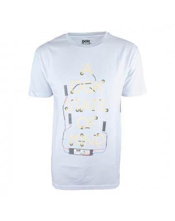 Camiseta DGK State of Mind Branca