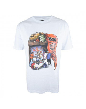 Camiseta DGK Knocks Branca