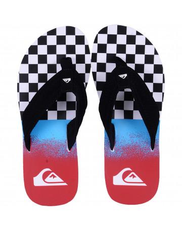 Chinelo Quiksilver Sandal Basis Xadrez   Loja de Surf 5998e0c2e3
