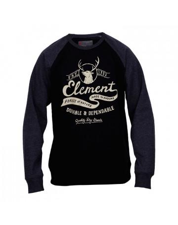 Moletom Element Nature - Preto