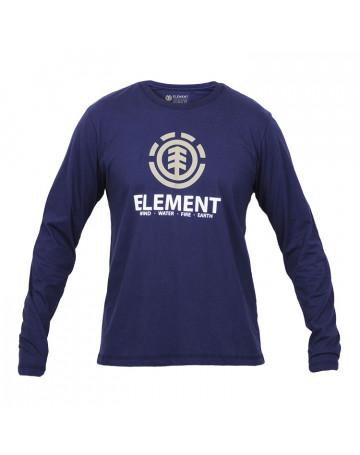 Camiseta Element Manga Longa Flip