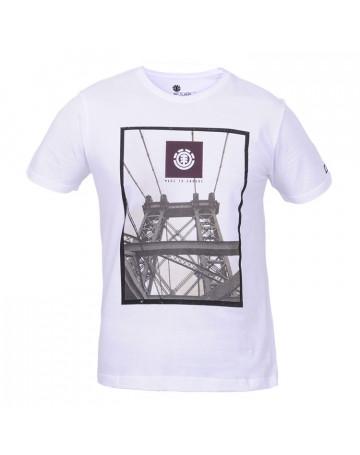 Camiseta Element Bridge - Branca