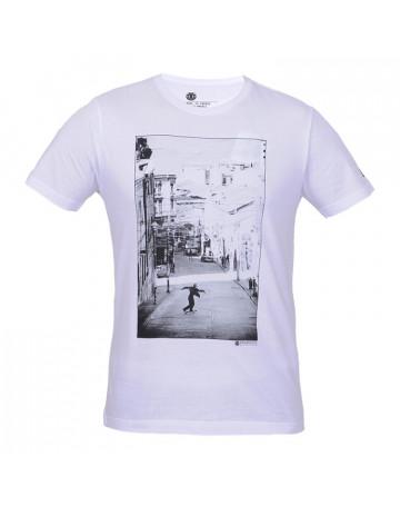 Camiseta Element SK8 - Branca