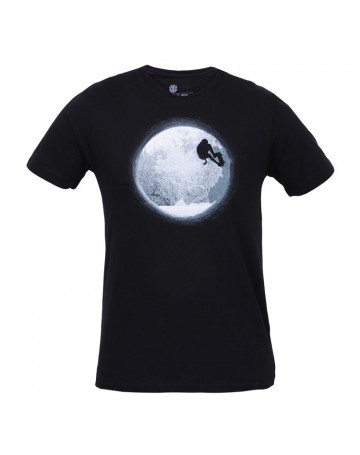 Camiseta Element SK8 Two - Preta