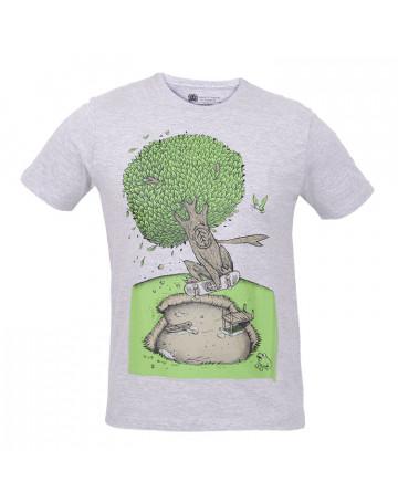 Camiseta Element Woow - Cinza