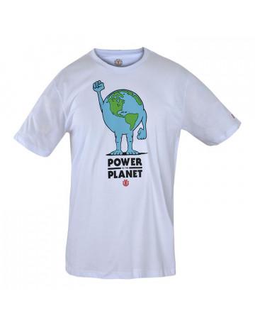 Camiseta Element Planet - Branca