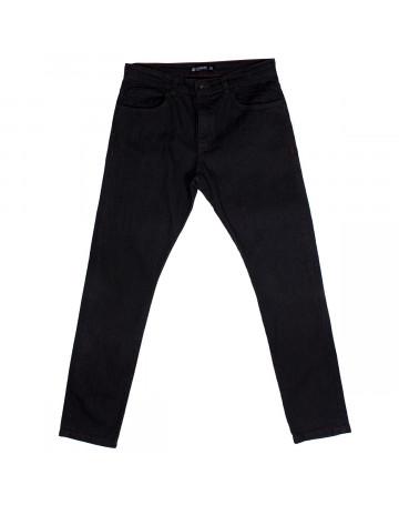 Calça Element Jeans Rough Extra Grande - Preto Mescla