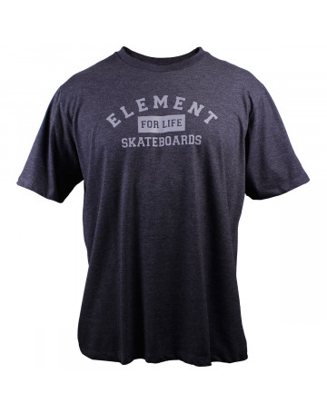 Camiseta Element For Life Chumbo Mescla