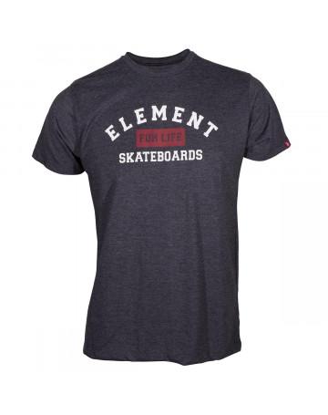 Camiseta Element For Life - Chumbo Mescla  ac763a45edc