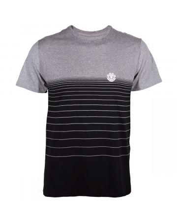 Camiseta Element Gradient - Preto Cinza Mescla  996e128f82e