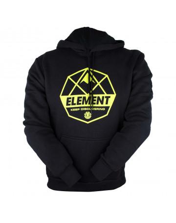 Moletom Element Domme - Preto